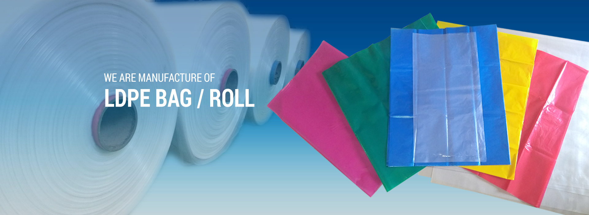 LDPE Rolls Manufacturer